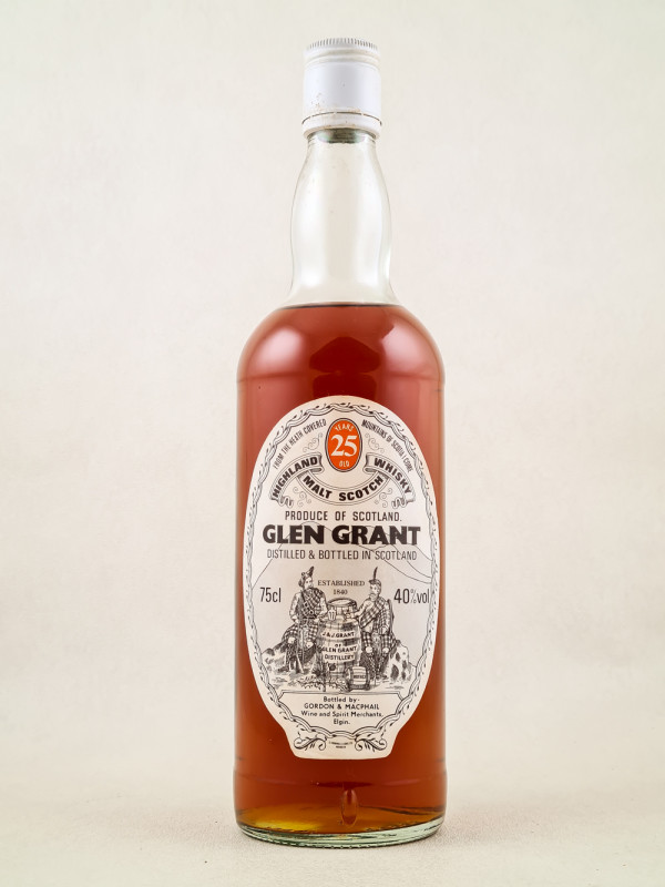 Glen Grant - Whisky Single Malt 25 Years