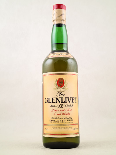 The Glenlivet - Whisky Pure Single Malt 12 Years