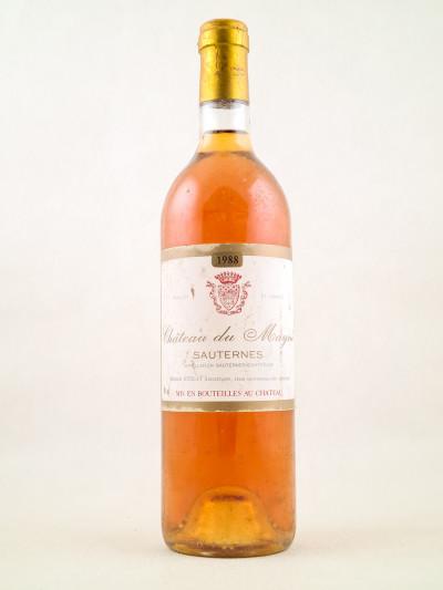 Mayne - Sauternes 1988