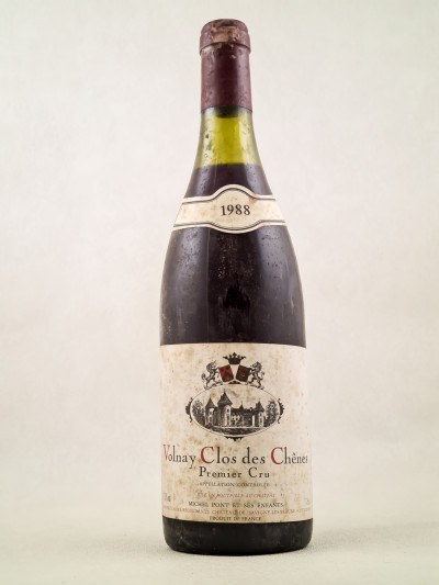"Michel Pont - Volnay 1er cru ""Clos des Chênes"" 1988"