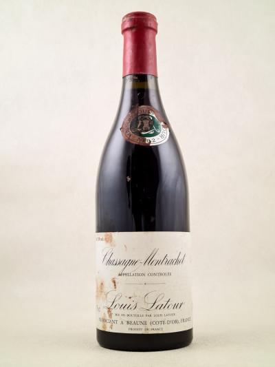 Louis Latour - Chassagne Montrachet rouge 1982