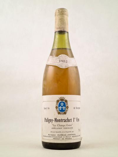 """Dureuil Janthial - Puligny Montrachet 1er Cru """"Les Champs Gains"""" 1982"""