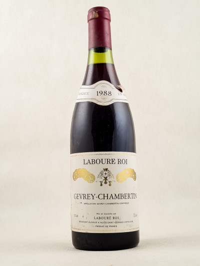 Labouré Roi - Gevrey Chambertin 1988