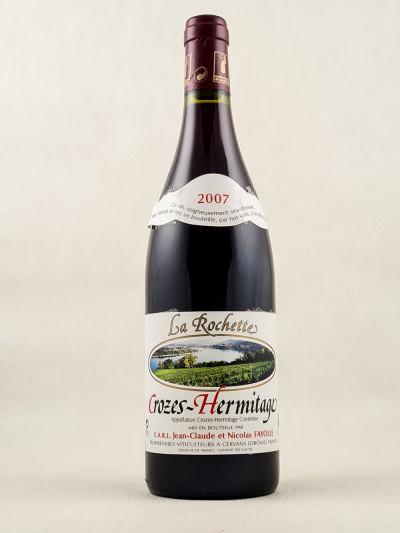 """Fayolle - Crozes Hermitage """"La Rochette"""" 2007"""