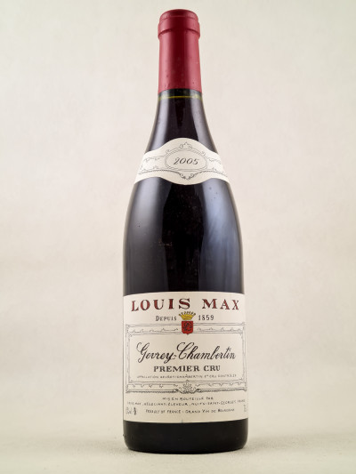 Louis Max - Gevrey Chambertin 1er Cru 2005