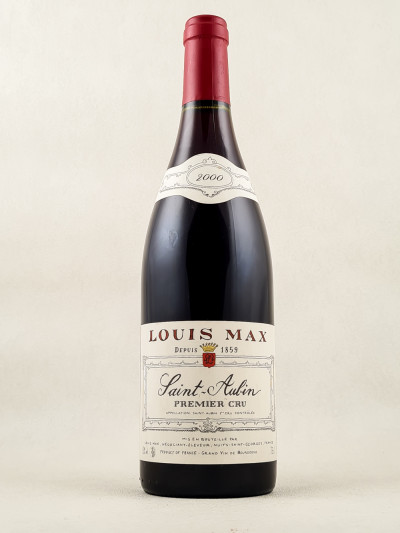 Louis Max - Saint Aubin 1er cru rouge 2000