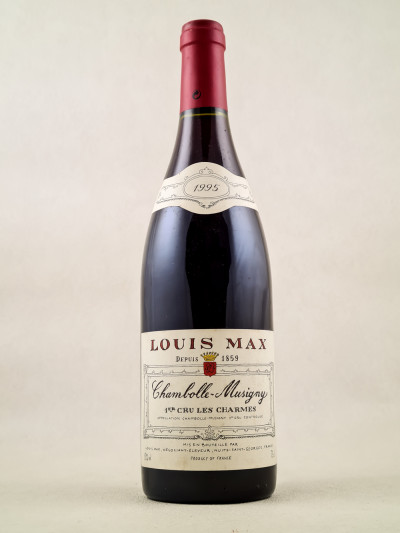 "Louis Max - Chambolle Musigny 1er cru ""Les Charmes"" 1995"