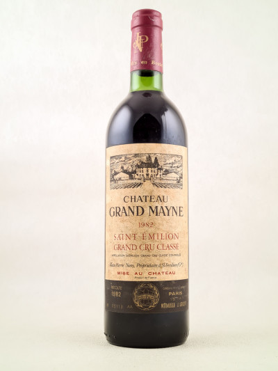 Grand Mayne - Saint Emilion 1982