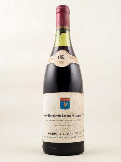 "Dumont d'Arvignac - Gevrey Chambertin 1er Cru ""Lavaux St Jacques"" 1982"