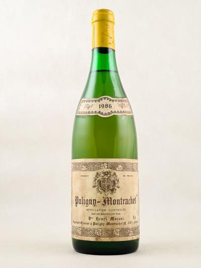 Moroni - Puligny Montrachet 1986
