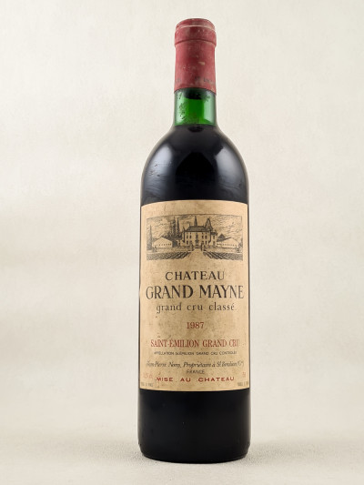 Grand Mayne - Saint Emilion 1987