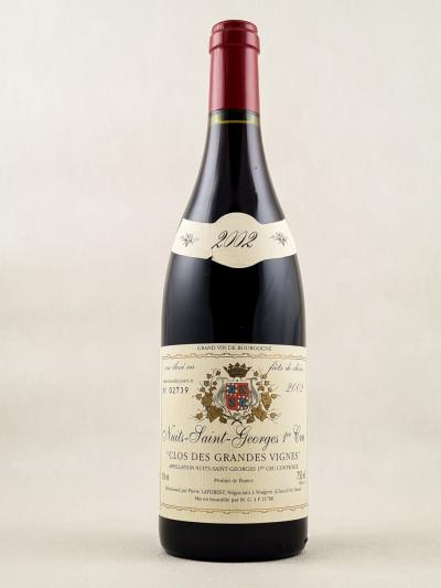 """Pierre Laforest - Nuits Saint Georges 1er cru """"Clos des Grandes Vignes"""" 2002"""