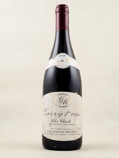 "Domaine Mouton - Givry 1er cru ""Clos Charlé"" 2000"