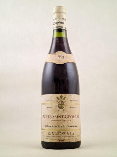 Dubois & Fils - Nuits Saint Georges 1991