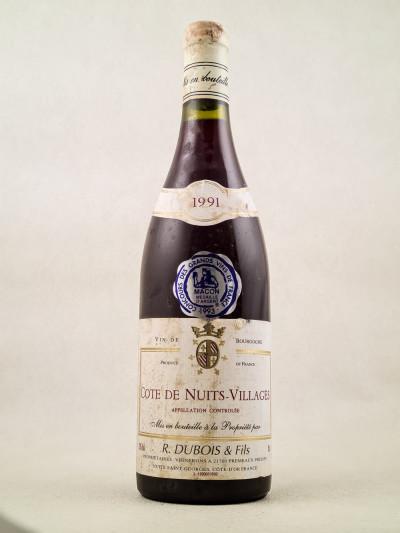 Dubois & Fils - Côte de Nuits-Villages 1991