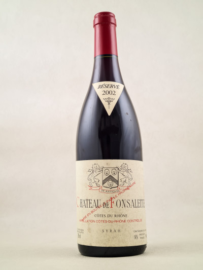 Fonsalette - Côtes du Rhône 2002