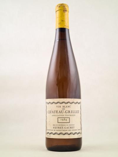Neyret Gachet - Château Grillet 1986