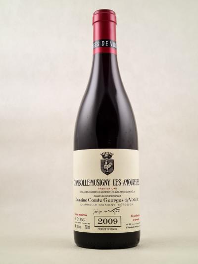 "Comte Georges de Vogüé - Chambolle Musigny 1er cru ""Amoureuses"" 2009"