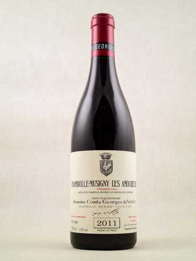 "Comte Georges de Vogüé - Chambolle Musigny 1er cru ""Amoureuses"" 2011"