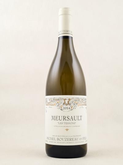 "Michel Bouzereau - Meursault 1er cru ""Tessons"" 2014"