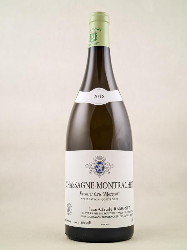 "Ramonet - Chassagne Montrachet 1er cru ""Morgeot"" 2018 MAGNUM"