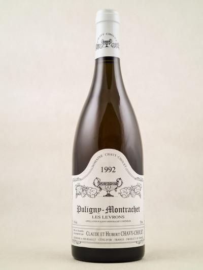 """Chavy Chouet - Puligny Montrachet """"Les Levrons"""" 1992"""