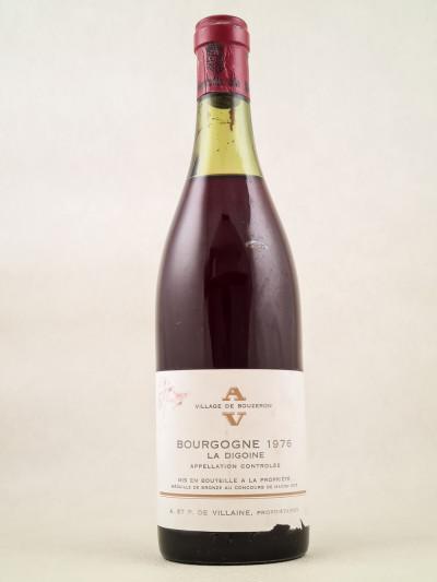 """De Villaine - Bourgogne """"La Digoine"""" 1976"""