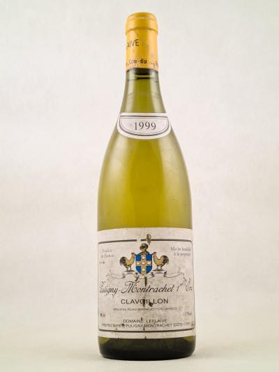"Leflaive - Puligny Montrachet 1er cru ""Clavoillon"" 1999"
