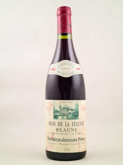 """Jacques Prieur - Beaune 1er cru """"Clos de la Féguine"""" 1990"""