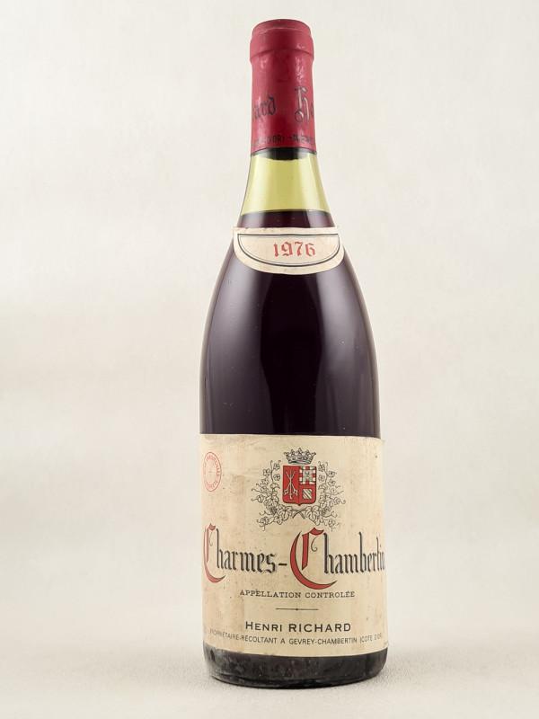 Henri Richard - Charmes Chambertin 1976