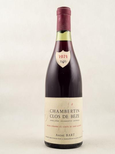 André Bart - Chambertin Clos de Bèze 1976