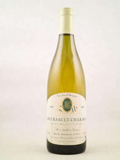 Henri Germain - Meursault 1er cru Charmes 1994