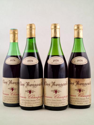 Clos Rougeard - Saumur Champigny 1978