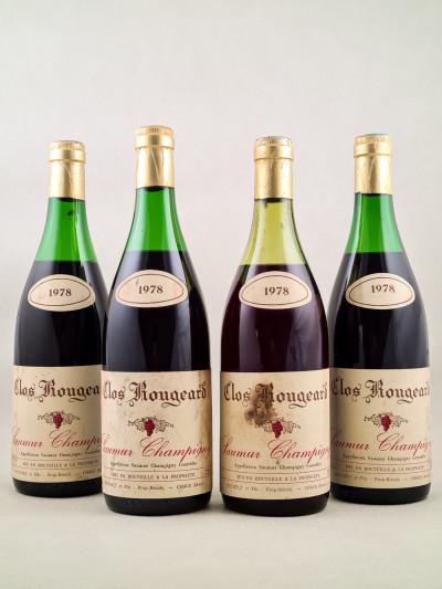 Clos Rougeard - Saumur Champigny 1978 x4