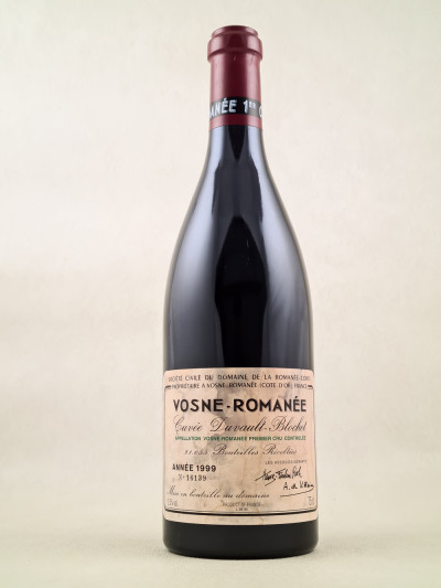 "Romanée Conti - Vosne Romanée 1er cru ""Cuvée Duvault Blochet"" 1999"
