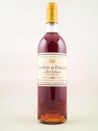 Fargues - Sauternes 1989