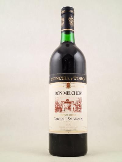 Concha y Toro - Don Melchor 1989