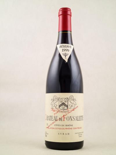 """Fonsalette - Côtes du Rhône """"Syrah"""" 1999"""