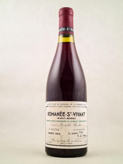 Romanée Conti - Romanée Saint Vivant 1984