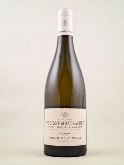 """Henri Boillot - Puligny Montrachet 1er cru """"Clos de la Mouchère"""" 2008"""