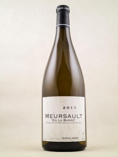 "Antoine Jobard - Meursault 1er cru ""En la Barre"" 2011 MAGNUM"