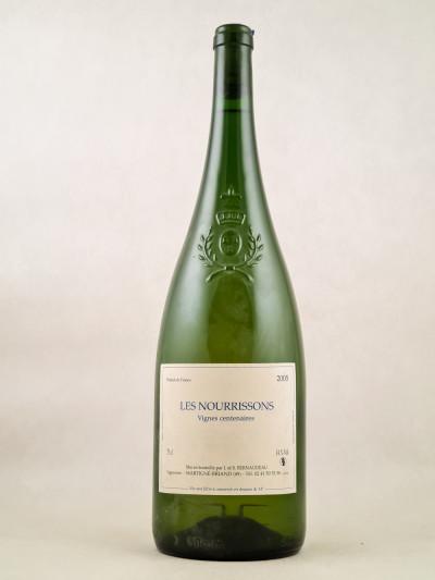 """Bernaudeau - Anjou """"Les Nourrissons - Vignes centenaires"""" 2005"""