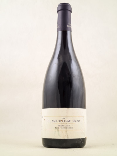 """Amiot Servelle - Chambolle Musigny 1er cru """"Les Feusselottes"""" 2001"""
