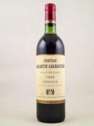 Malartic Lagravière - Graves 1982
