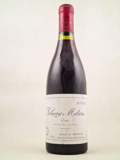 "Hubert De Montille - Volnay 1er cru ""Mitans"" 1987"
