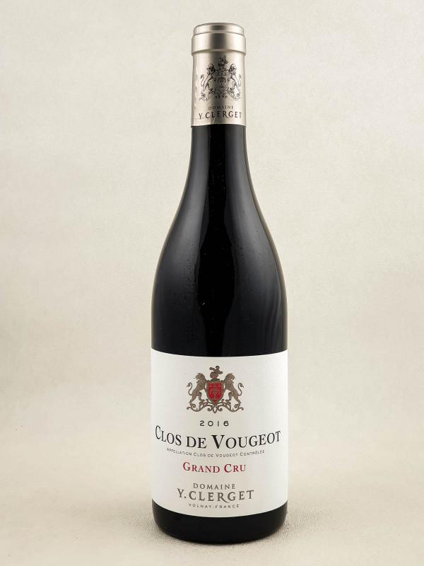 Yvon Clerget - Clos Vougeot 2016