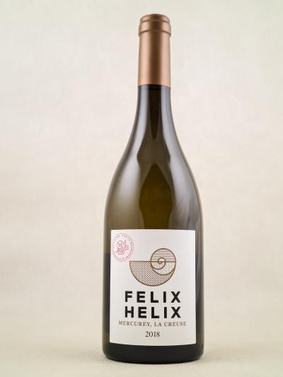 """Félix Hélix - Mercurey """"La Creuse"""" 2018"""