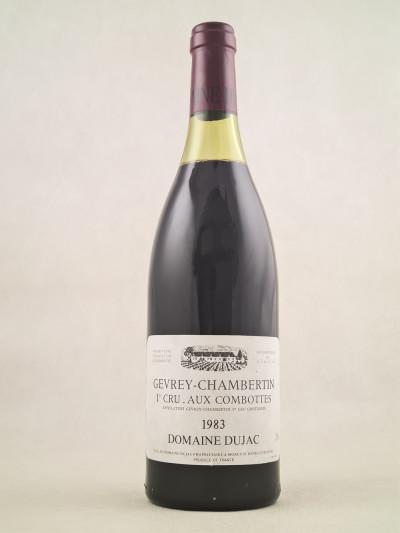 "Dujac - Gevrey Chambertin 1er cru ""Aux Combottes"" 1983"