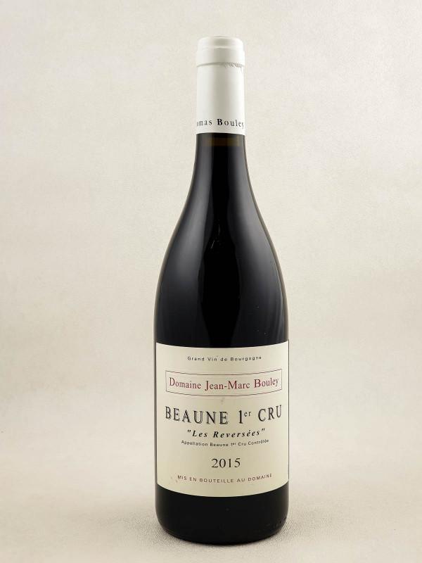 "Jean Marc Bouley - Beaune 1er cru ""Reversées"" 2015"