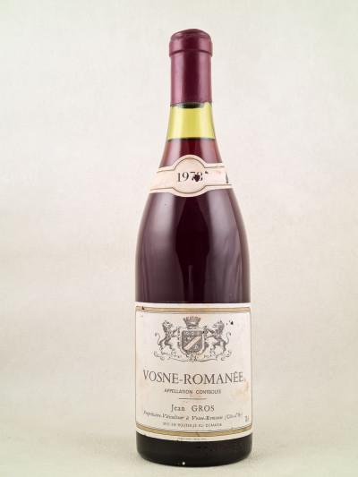 Jean Gros - Vosne Romanée 1978